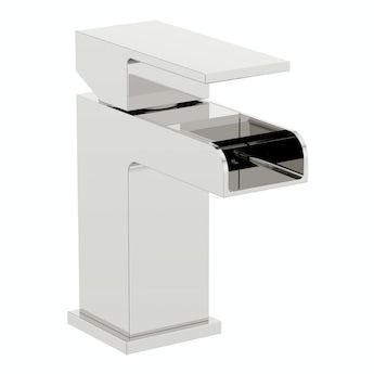 Flume basin mixer tap