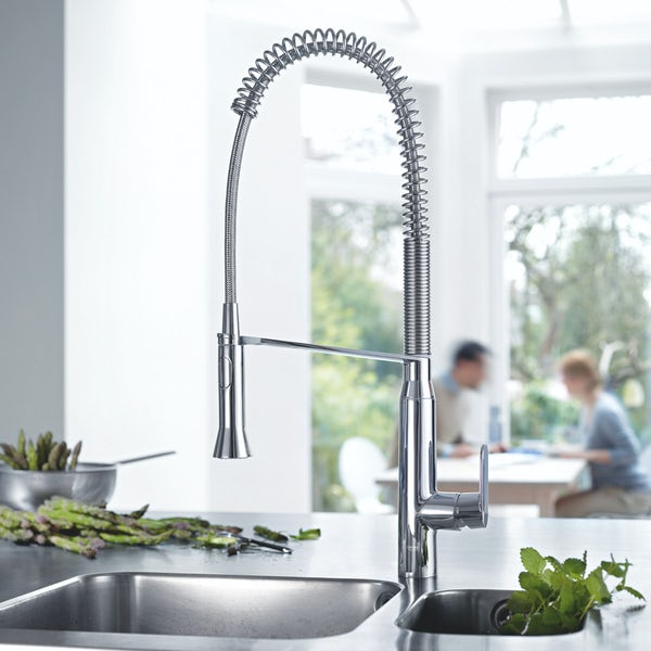 Grohe K7 Profi-spray kitchen tap