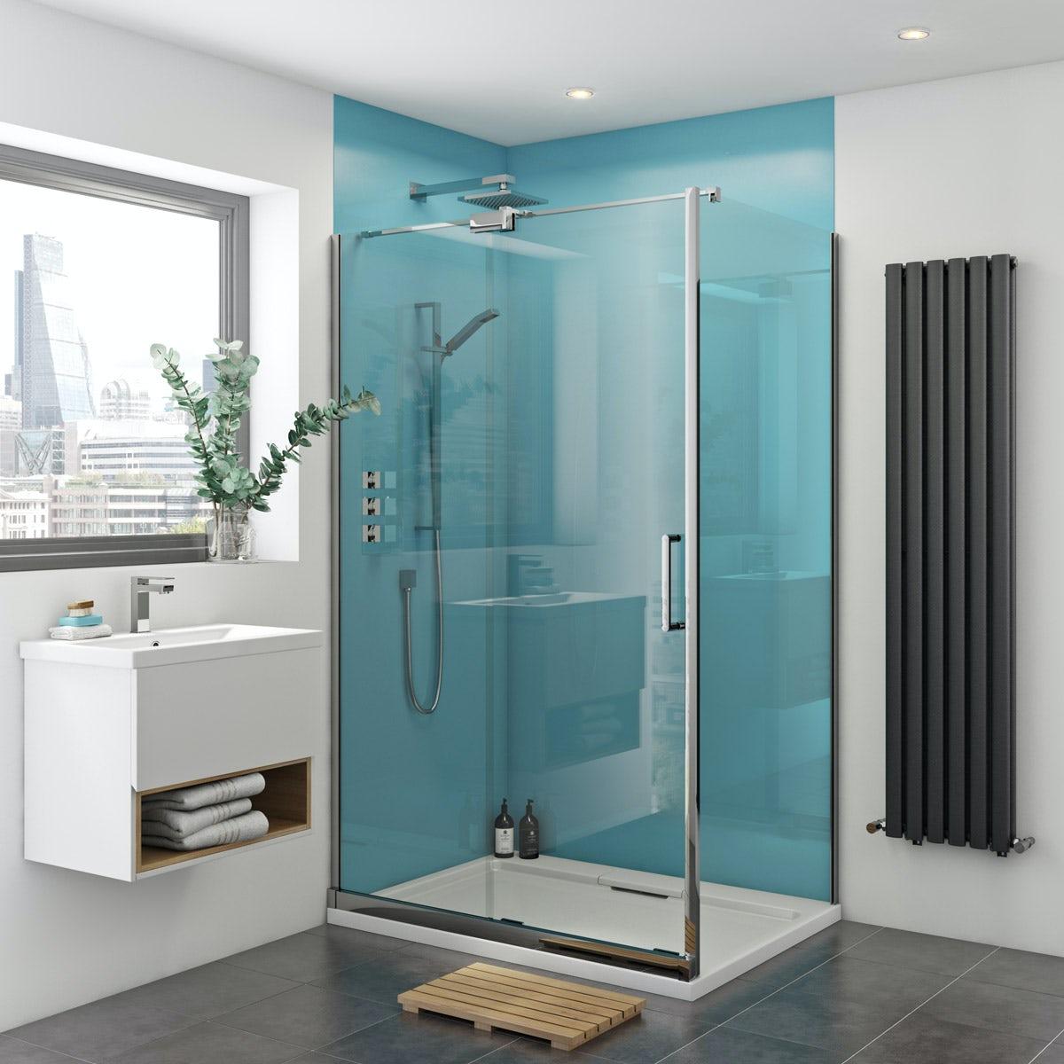 Acrylic Sheet Shower Wall