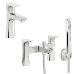 Create basin and bath shower mixer tap pack