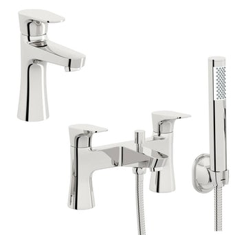 Create Basin and Bath Shower Mixer Pack