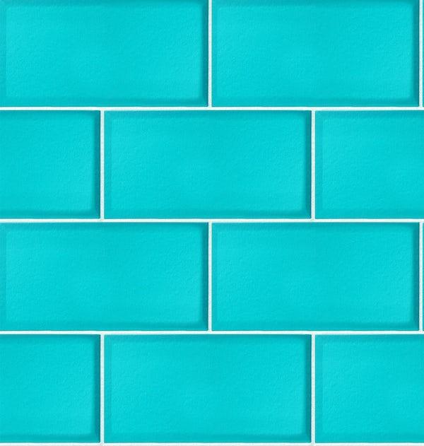 Ceramica Subway Tile - Teal