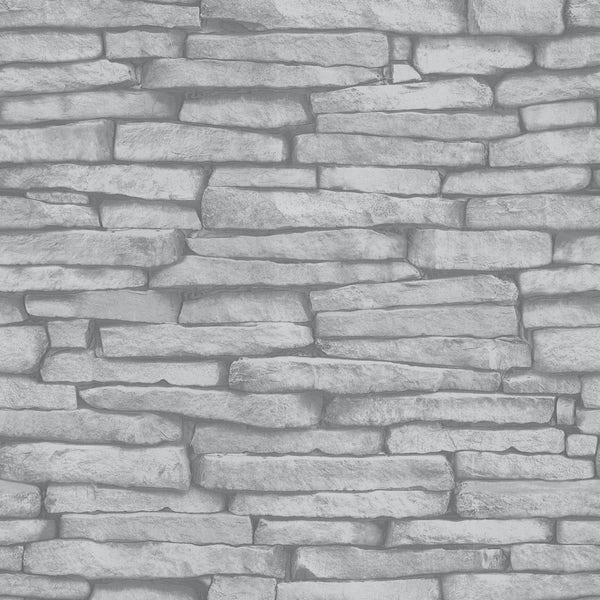 Fine Decor slate sidewall cream wallpaper