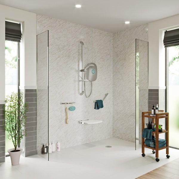 AKW Velena Devote shower seat white