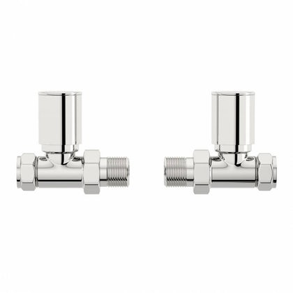 Orchard straight radiator valves