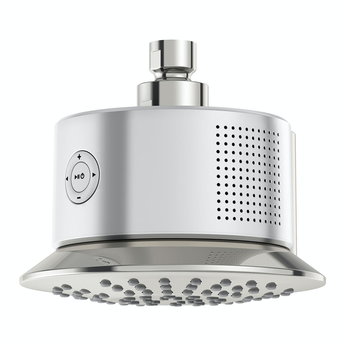 Mode Stream bluetooth speaker shower head | VictoriaPlum.com