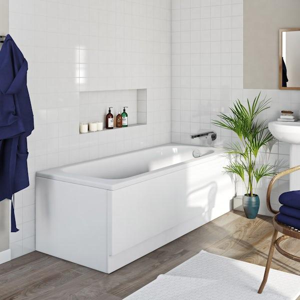 Kaldewei Saniform Plus straight steel bath 1700 x 700 with no tap holes