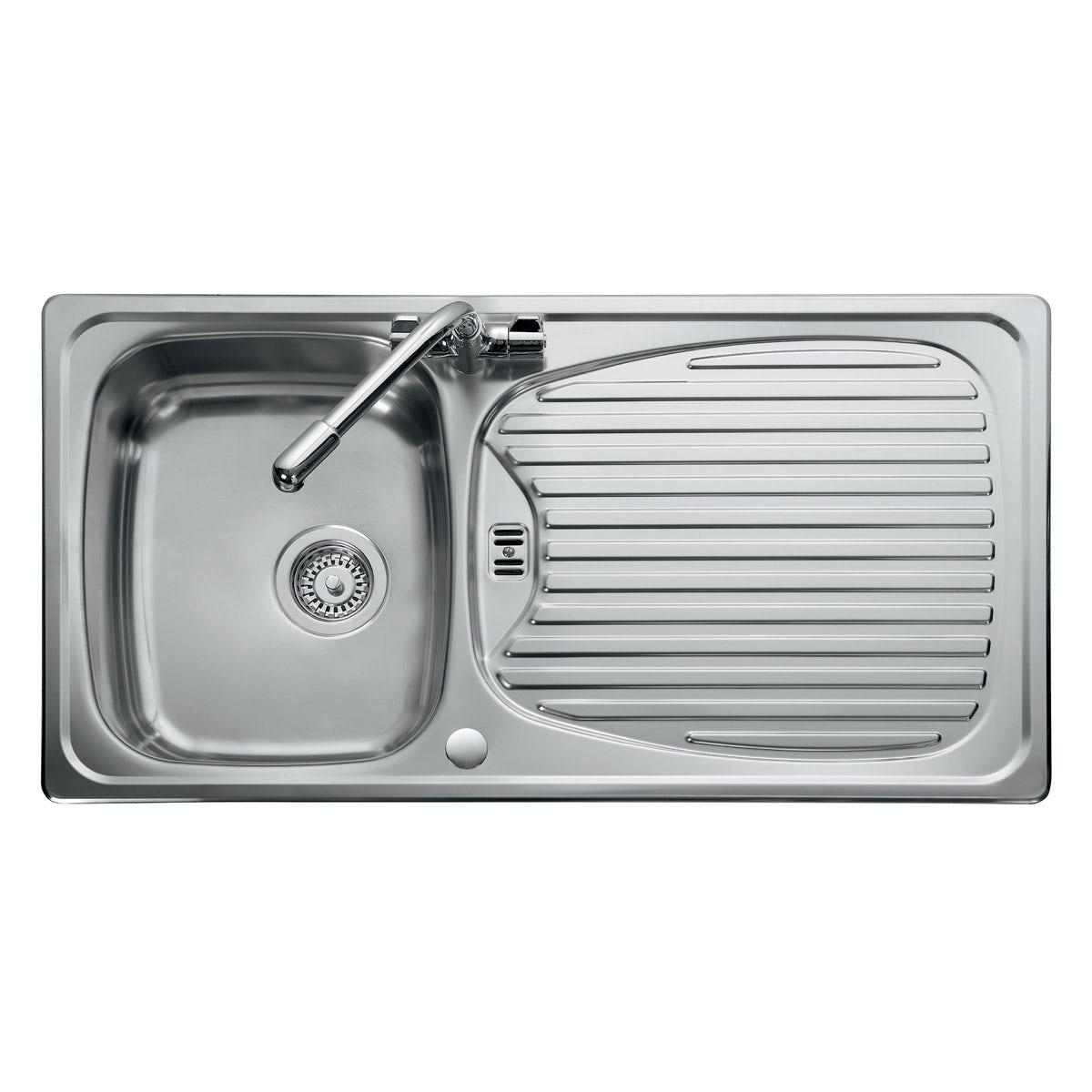 Leisure Euroline 1.0 bowl reversible kitchen sink