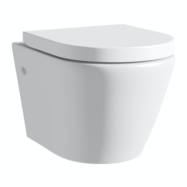 Harrison wall hung toilet inc soft close seat
