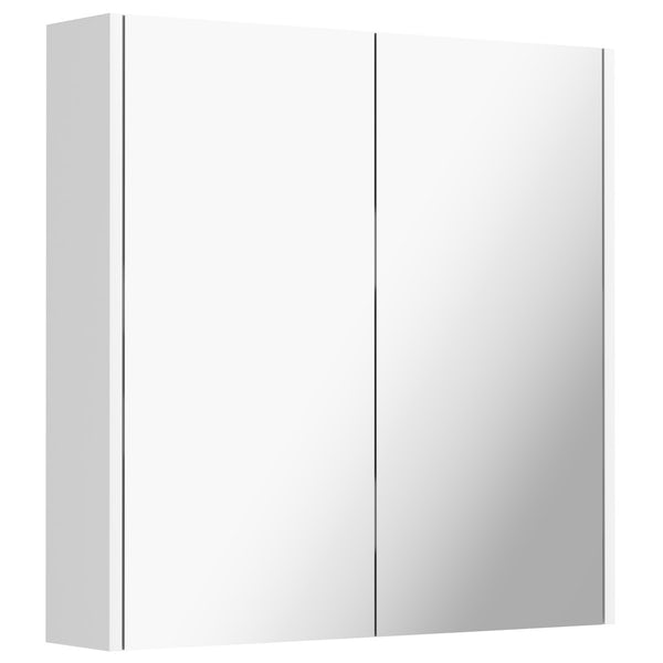 Mode Cooper white vanity unit 800mm and mirror offer