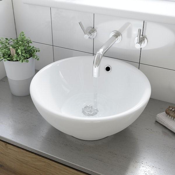 Eden countertop basin with waste