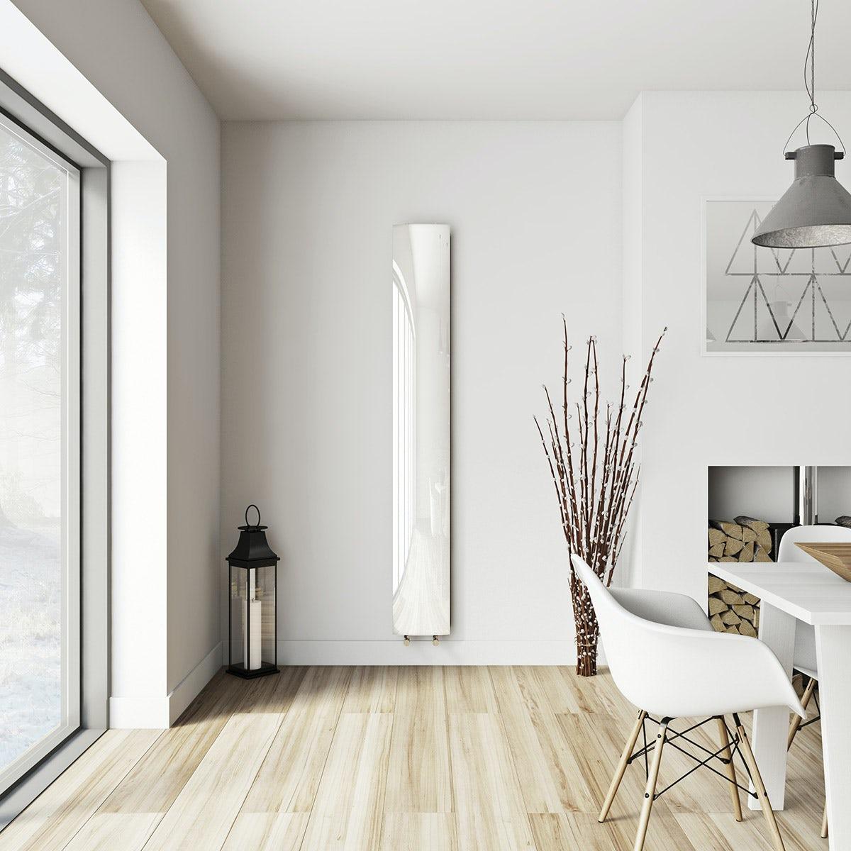 Korlea white vertical radiator 2000 x 280