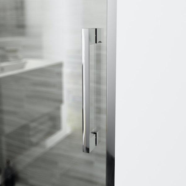 Mode Carter premium 8mm easy clean left handed shower enclosure