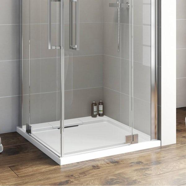 Designer Square Stone Shower Tray 800 x 800