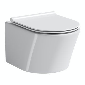 Mode Arte wall hung toilet inc slimline soft close toilet seat