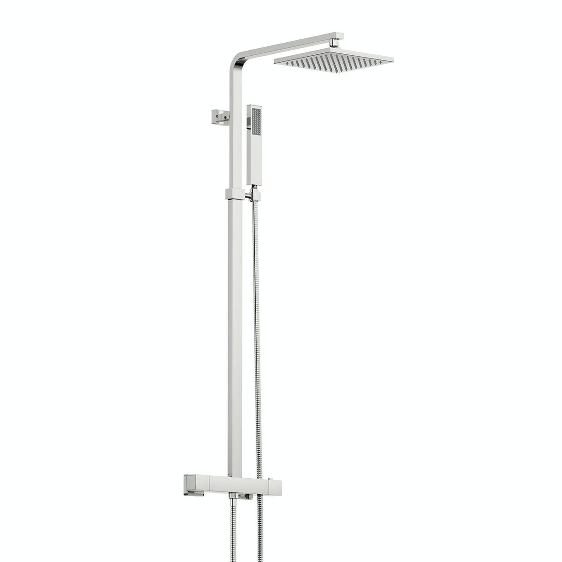 Orchard Cubik thermostatic bar valve shower system