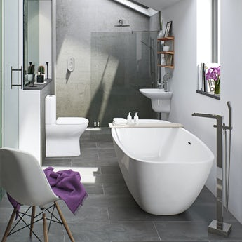 Mode Fairbanks freestanding bath suite