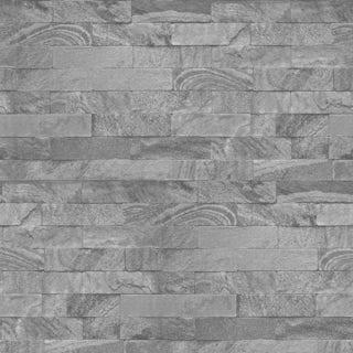 Graham & Brown New brick grey wallpaper