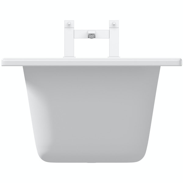 Kaldewei Saniform Plus straight steel bath