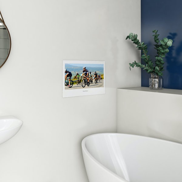 ProofVision 19 inch white bathroom TV