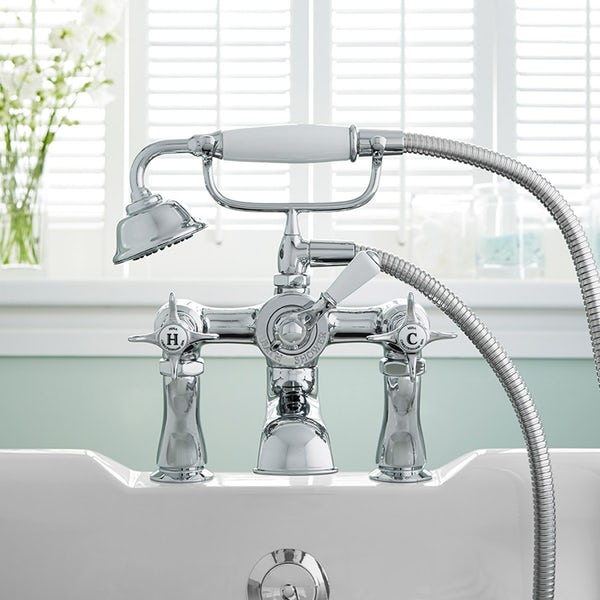 Mira Virtue basin tap and bath shower mixer tap pack