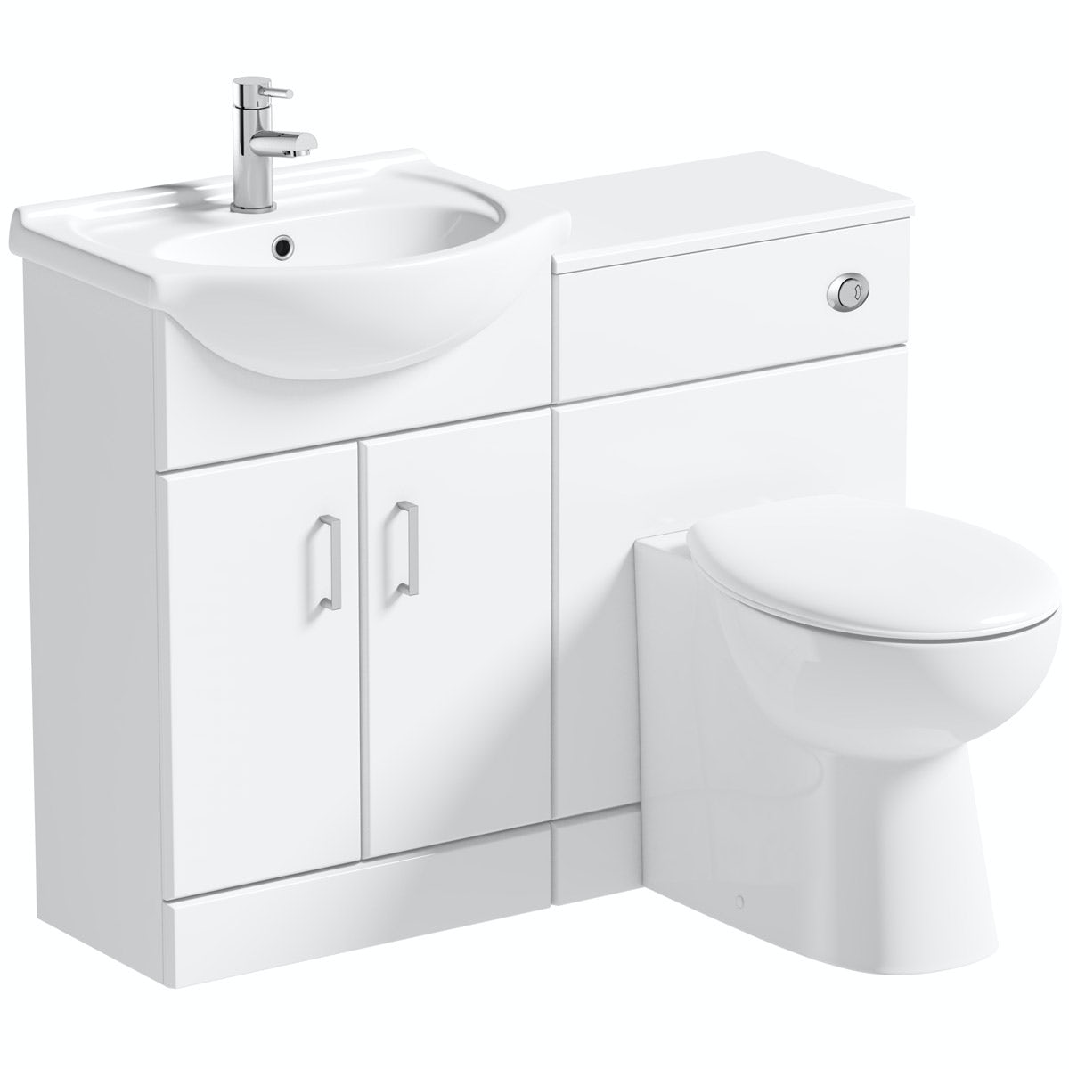 Orchard Eden white 1040 combination with Clarity back to wall toilet
