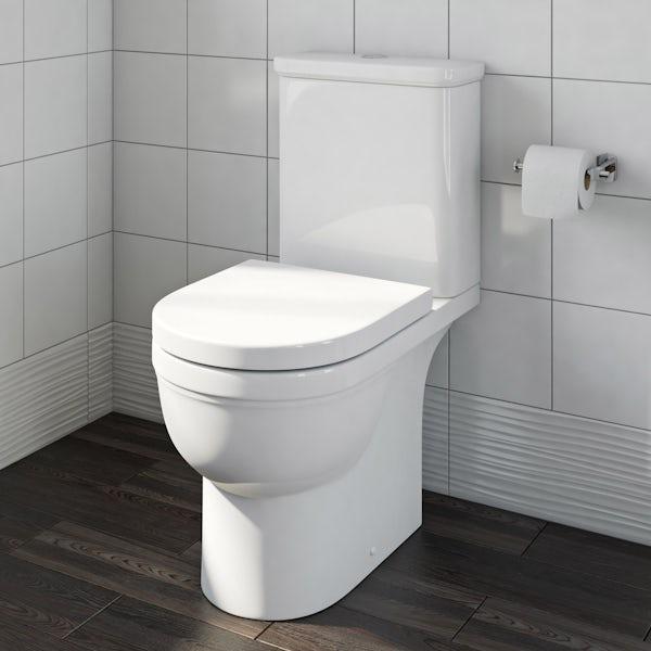 Deco Close Coupled Toilet exc Seat