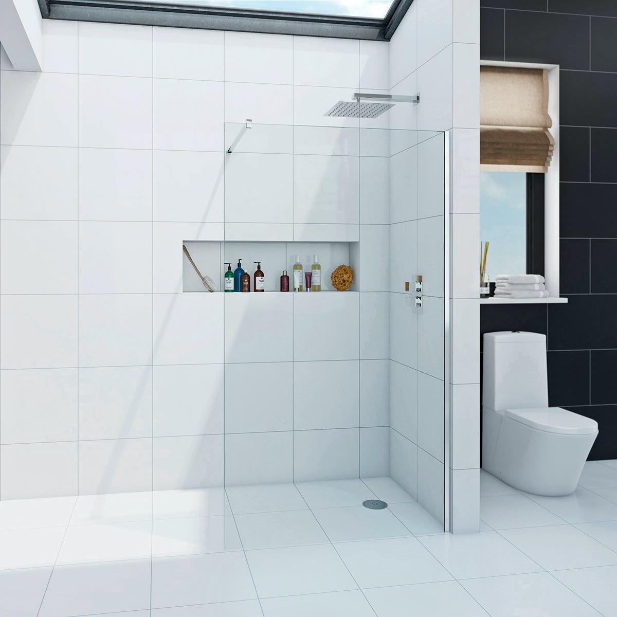 Wet Room Shower Tray  X Mm Tile On