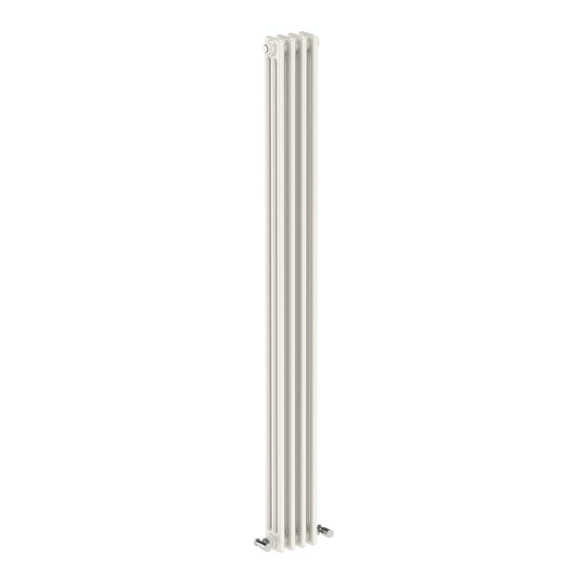The Bath Co. Dulwich vertical white triple column radiator 1800 x 200