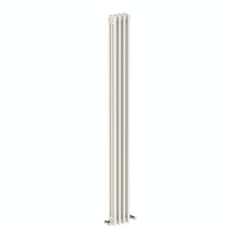The Bath Co. Dulwich vertical white triple column radiator 1800 x 200 offer pack