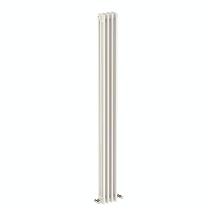 Dulwich vertical white triple column radiator 1800 x 155