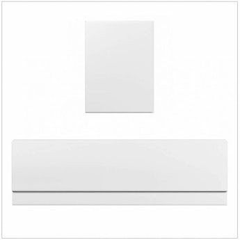 Orchard Straight bath acrylic panel pack 1700 x 700