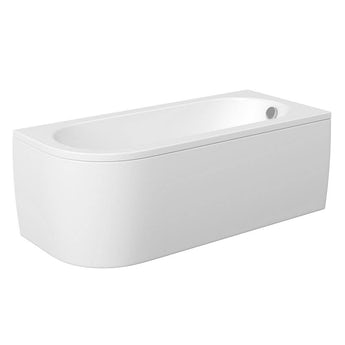 Orchard Elsdon D shaped right handed single ended bath