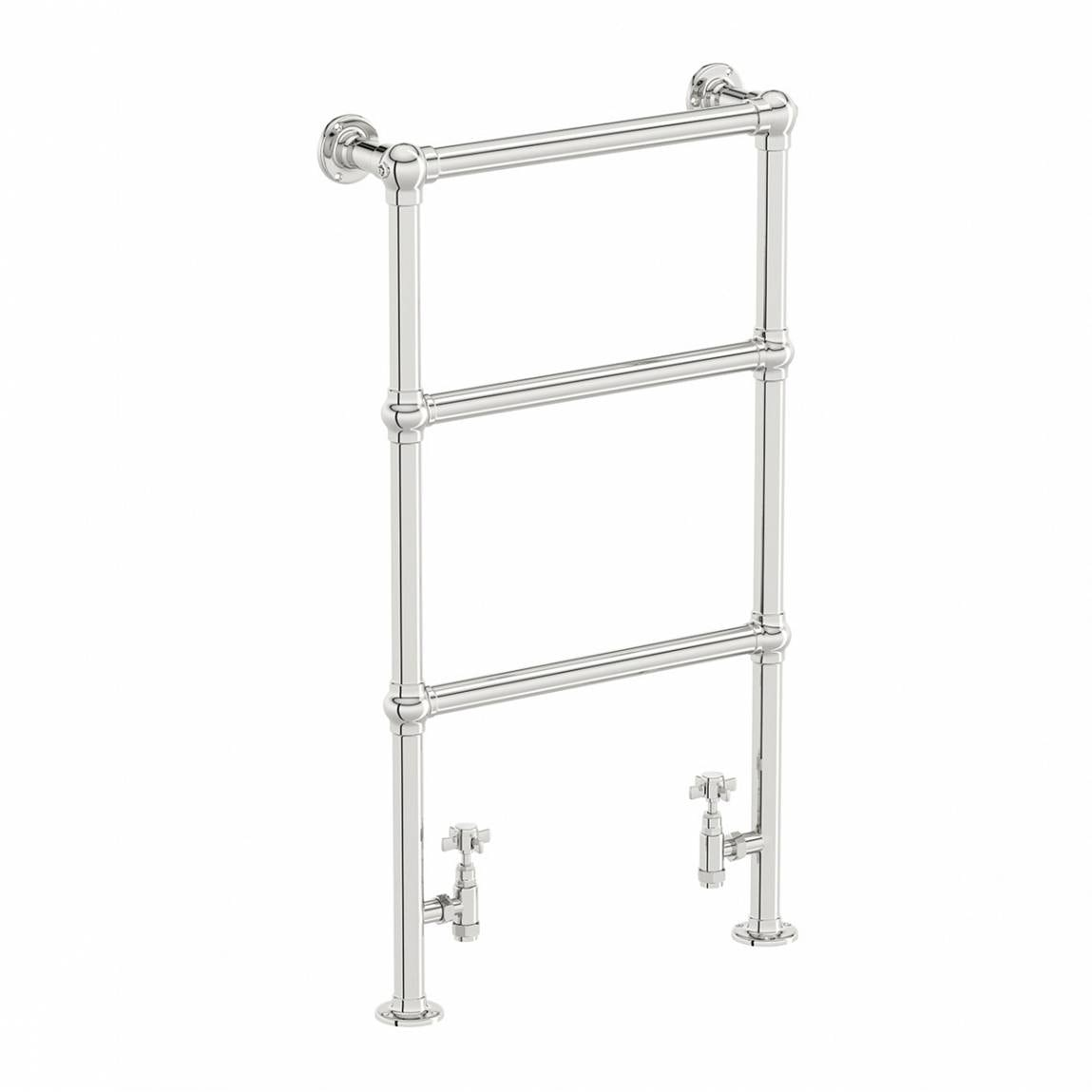 The Bath Co. Winchester heated towel rail 914 x 535 offer pack