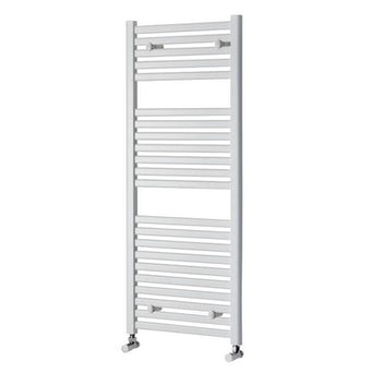 White Heated Towel Rail 1200 x 500 Special Offer