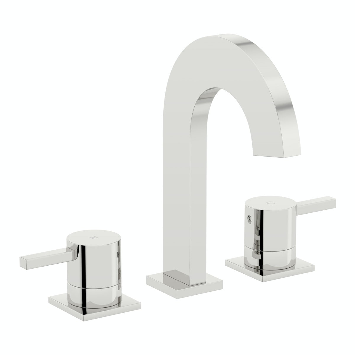 Mode Harrison 3 tap hole bath mixer tap offer pack