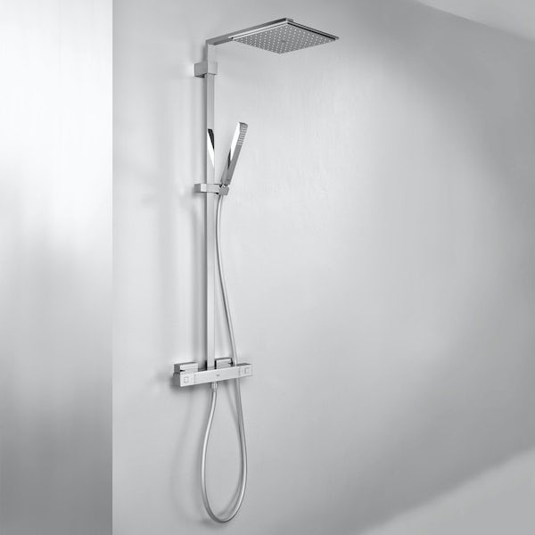 grohe euphoria cube xxl 230 shower system. Black Bedroom Furniture Sets. Home Design Ideas