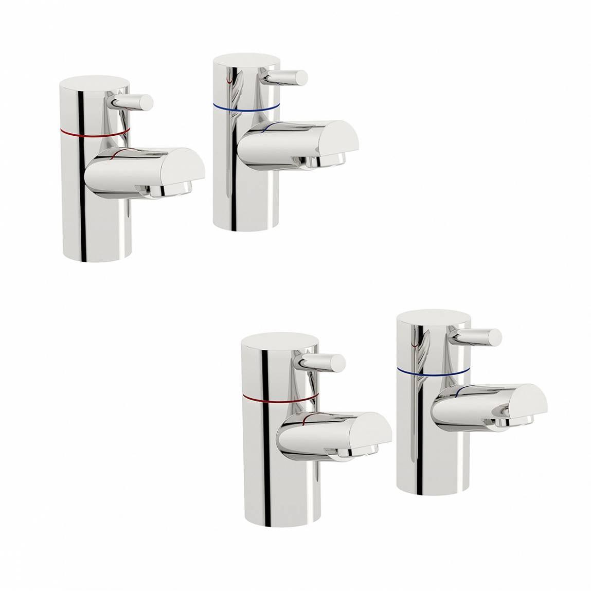 Orchard Wharfe basin and bath pillar tap pack