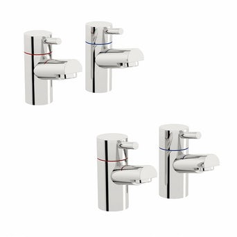 Matrix Basin and Bath Tap Pack