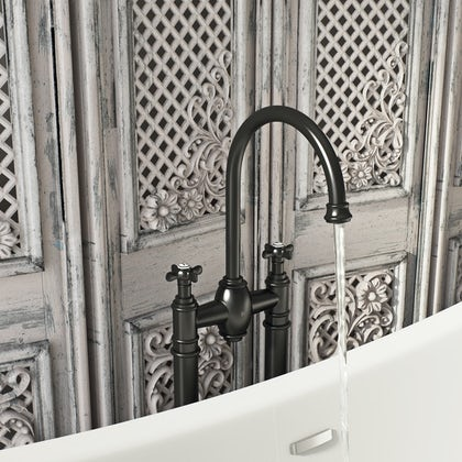 Belle de Louvain Castello freestanding bath filler tap