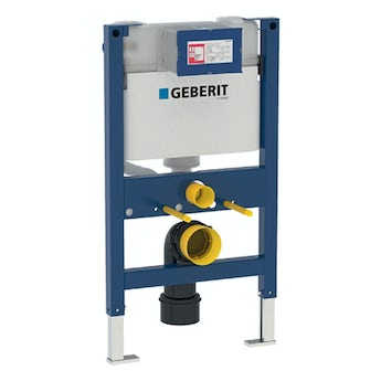 Geberit Duofix WC frame 0.82m with Kappa UP200 cistern