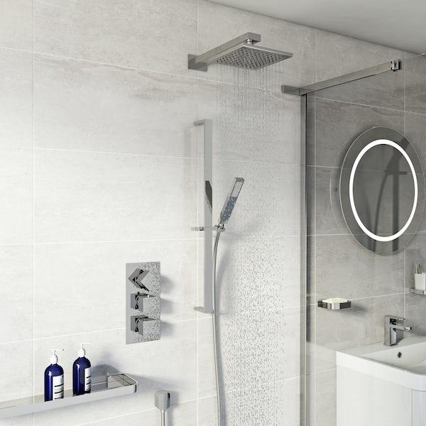Mode Ellis complete ensuite with shower enclosure 1200 x 800