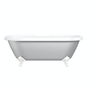 The Bath Co. Dulwich Dove grey coloured bath