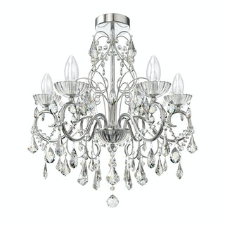 Forum Solen 5 light bathroom chandelier