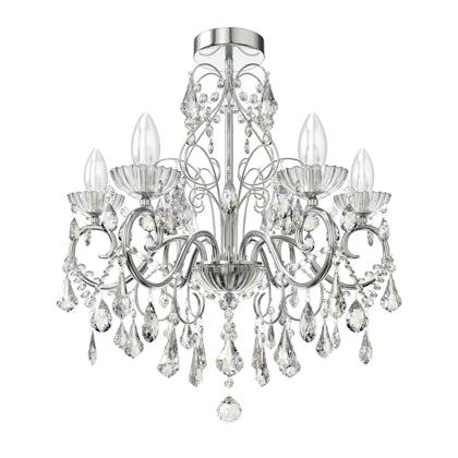Forum Solen 5 light bathroom chandelier