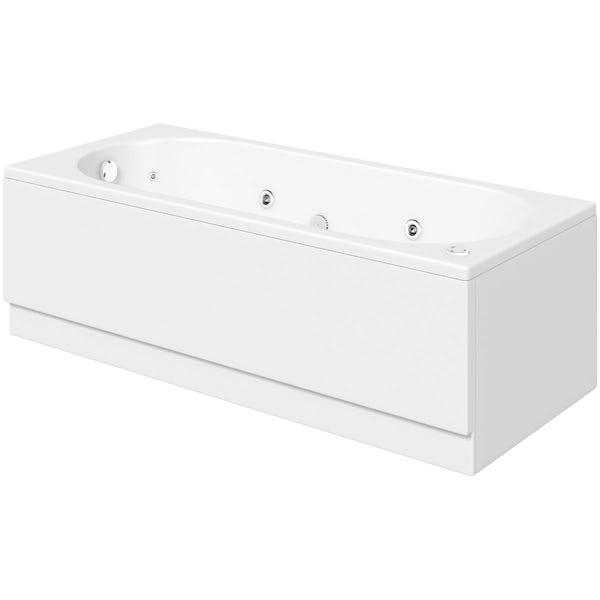Richmond 1700 x 750 single end 12 jet whirlpool bath