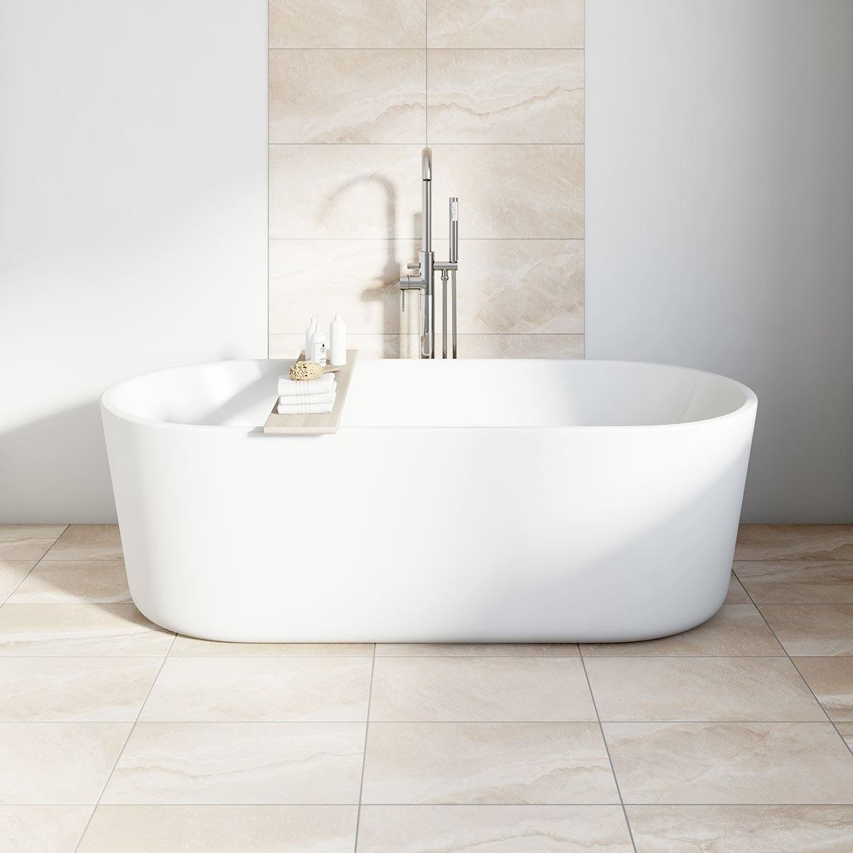 British Ceramic Tile stone sand beige matt tile 298mm x 498mm
