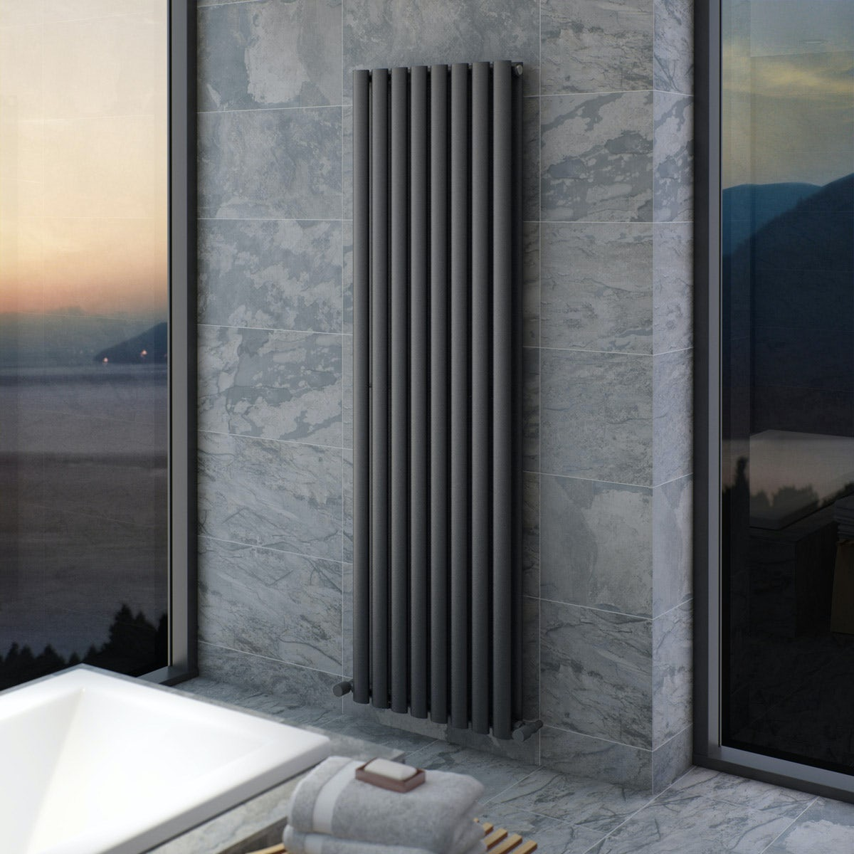Tate Double Radiator 1600 x 480