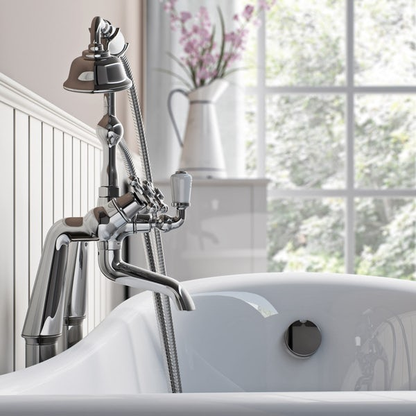 The Bath Co. Camberley bath shower mixer tap offer pack