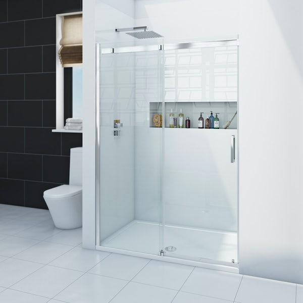 Zenolite plus ice acrylic shower wall panel 2070 x 1000